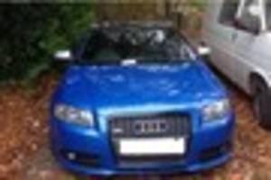 twitter tip-off leads staffordshire police to stolen rugeley audi