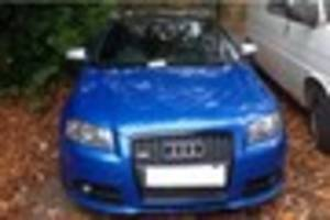 twitter user leads staffs police to blue audi s3 high performance...