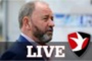 Cheltenham Town LIVE: Pre-Blackpool press conference and Robins...