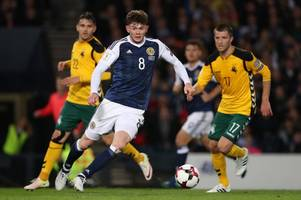 oliver burke is being moulded for no.10 role reveals rb leipzig boss as scotland star settles into germany