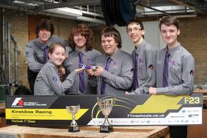 racing kids delighted with performance at f1 in schools world championship final