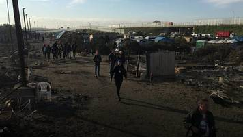 Living in the ruins of the Calais 'Jungle'
