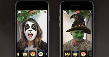 Facebook Gets Updated with Halloween-Themed Reactions, Masks Too