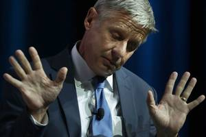 Libertarian Candidate Gary Johnson Drops in the Polls