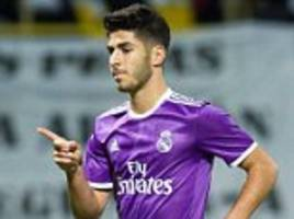 Marco Asensio is fast becoming Real Madrid's new staramid the problems with Cristiano Ronaldo... he's already popular after failed Barcelona transfer