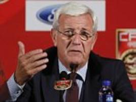 new china manager marcelo lippi urges country to unite for 'improbable' world cup run