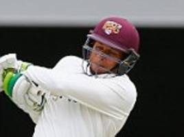usman khawaja recalled by australia for series against south africa while uncapped joe mennie could play