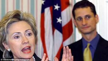 new clinton emails emerged as part of probe into anthony weiner's electronic devices: nyt