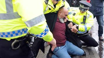 race relations worker guilty of racist abuse at refugee rally