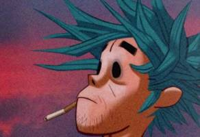 """gorillaz continue visual story series with """"the book of 2d"""": watch"""