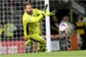 derby county keeper scott carson is not giving up on promotion...