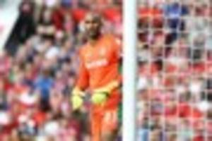 stoke city boss hopeful of signing derby county keeper lee grant...