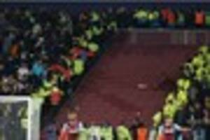 stoke city concerned for the safety of fans ahead of west ham...