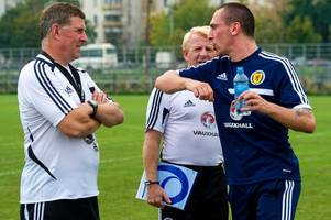 scott brown is best player in scotland right now so having him back to face england would be massive - mark mcghee