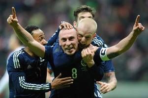 scott brown ran the show against man city and he can do same for scotland against england - sports hotline