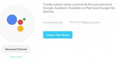 Google Assistant Channel Available on IFTTT for Android