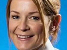 female police officer involved in a 'best of breasts' row with a colleague quits the force - but is set to join a neighbouring constabulary