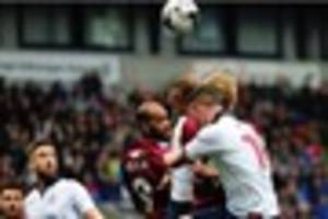 reports of crowd disturbance at bolton wanderers vs port vale