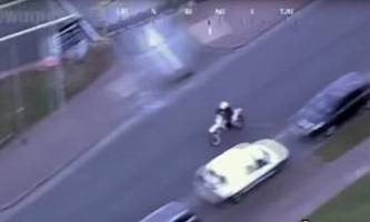 dirt bike rider goes on a gta-style rampage through uk's west midlands