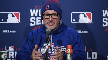 chicago cubs manager joe maddon thinks robot umpires may be a possibility