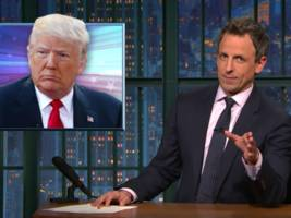 seth meyers: how the election is killing donald trump's brand