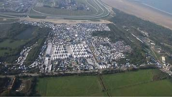 calais 'jungle' camp before and after demolition