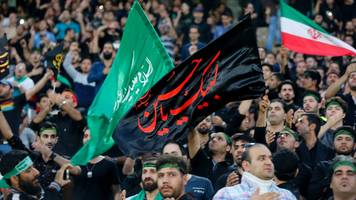 iran: fifa fines country's football federation over chants