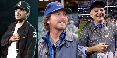 chance the rapper, eddie vedder, bill murray, more react to cubs world series victory
