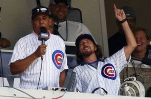 check out eddie vedder giving 'tour' around wrigley field in 1992
