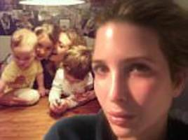 ivanka trump shares make-up-free photo on instagram working late into the night