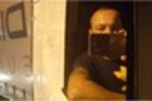 a lorry driver has been sent to prison after taking selfies of...
