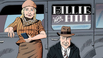 hillary and bill clinton: the bonnie & clyde of american politics