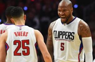 la clippers' bench looks much better already this season