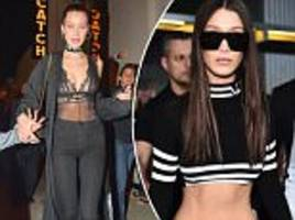 bella hadid admits she 'didn't mean to' lose so much weight ahead of victoria's secret fashion show