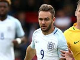 england u20 8-1 nigeria u20: adam armstrong scores hat-trick as young lions run riot in continental cup