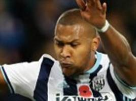 west brom forward salomon rondon to miss two world cup qualifiers for venezuela with hamstring strain