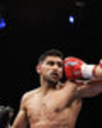 amir khan wants to fight kell brook...but not before a rematch with danny garcia