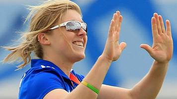 sri lanka v england: heather knight helps tourists cruise to victory in first odi