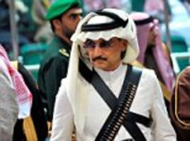 saudi prince who declared trump 'a disgrace' swiftly backtracks