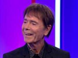 cliff richard makes his first appearance on the bbc even though he's suing it