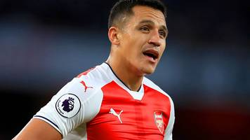 alexis sanchez: arsene wenger asks chile not to risk injured striker against uruguay
