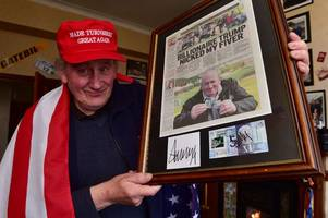autograph hunter could be in for a big pay day after donald trump's stunning presidential win