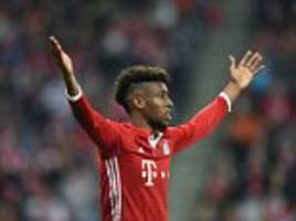 bayern munich ace kingsley coman ruled out for two months after injuring knee and ankle with france