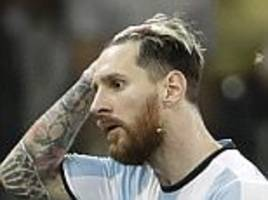 argentina in crisis after brazil loss... could lionel messi miss out on 2018 world cup?