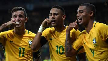 brazil 3-0 argentina: neymar & coutinho score as hosts win world cup qualifier
