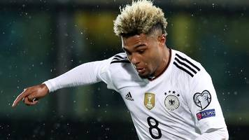 gnabry scores debut hat-trick as germany thrash san marino
