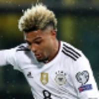 gnabry hat-trick in germany romp