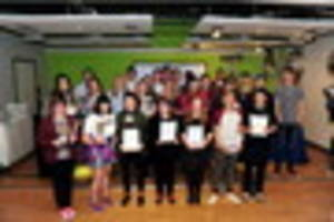special night for the academy grimsby as students receive awards