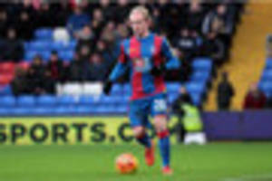 'we have to be realistic as a team' - crystal palace midfielder...
