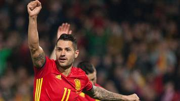 2018 world cup qualifiers: spain, italy, israel and ukraine win